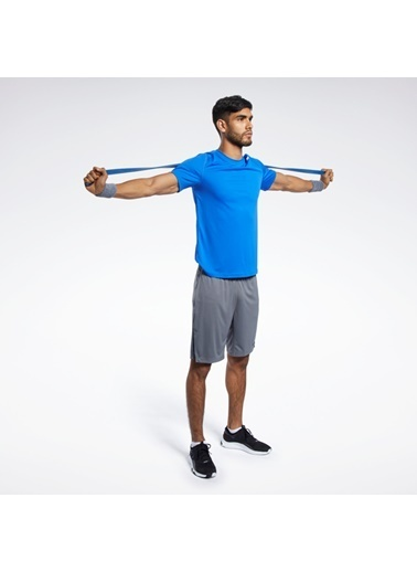 Reebok Workout Ready Polyester Tech T-Shırt Mavi